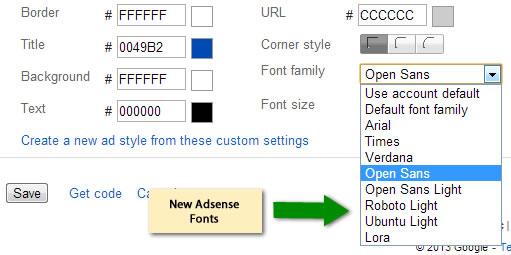 new-adsense-fonts